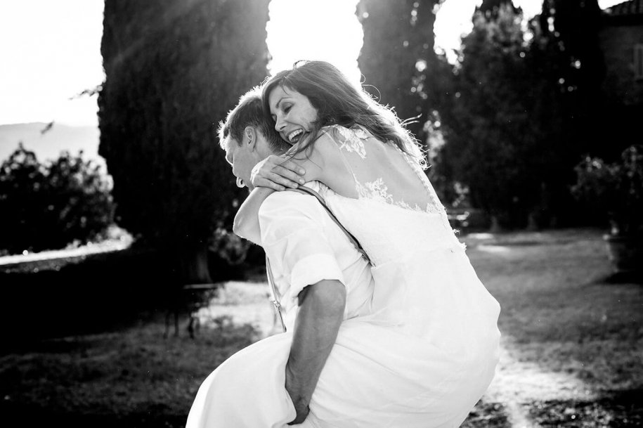 Amerikanisch-Deutsche Hochzeit in der Toskana