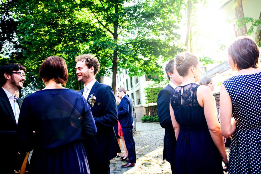 Urbane DIY - Hochzeit Frankfurt